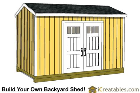 8x16 Shed Plans by 8x14 Backyard Shed Plans 8x14 Storage Shed Plans