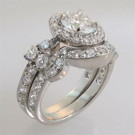 custom wedding rings bridal sets engagement rings