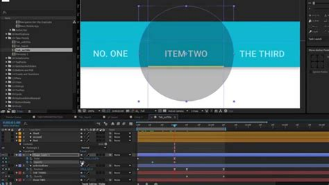 material design after effect material design tabs after effects tutorial youtube