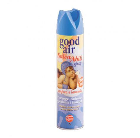 canfora per armadi spray profumatore e antitarme per tessuti air