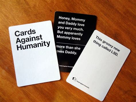 how to make cards against humanity cards against humanity gave me part of a island cnet
