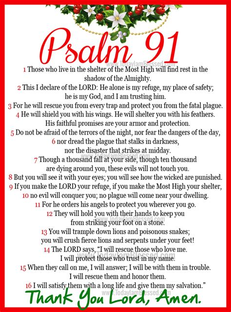 psalm 91 god s umbrella of protection books today is the day