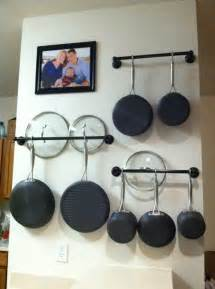 Hooks To Hang Pots On Wall How To Choose The Right Rack For Hanging Pots And Pans