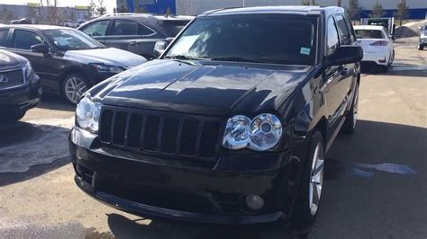 pre owned jeep srt8 pre owned black 2010 jeep grand srt8 4wd alberta