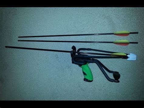 Pocket Sling Complete Version With Arrow Shotkit Hammer genyoutube to mp3 slingshot bow fishing quot how to quot