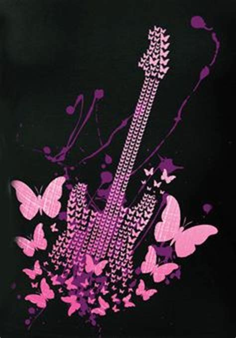 girly guitar wallpaper 1000 images about rock and roll on pinterest rock and