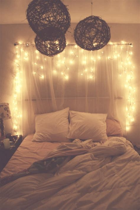 Bedrooms With Lights | white christmas lights in bedroom fresh bedrooms decor ideas