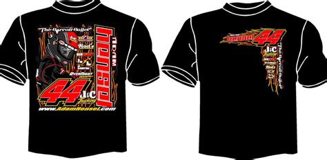 T Shirt Race overnight wraps motorsports division race shirts