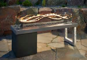 Outdoor Table With Firepit Turn Up The Heat With A Stylish Pit