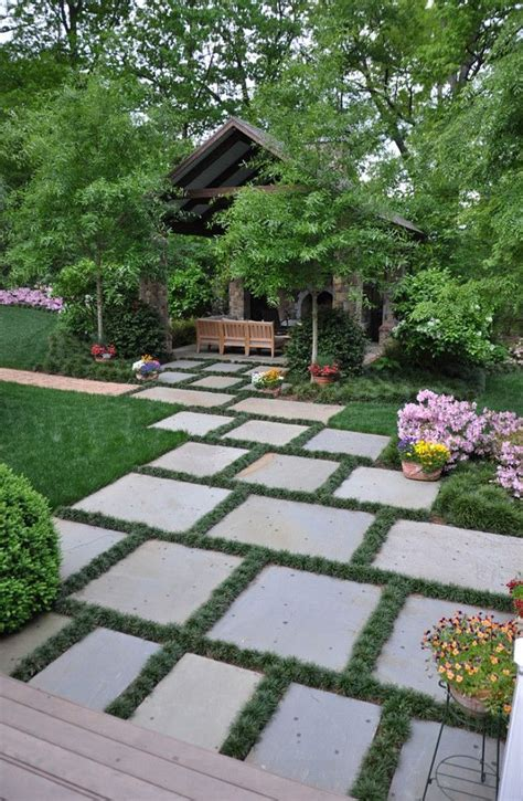Garden Paving Stones Ideas 25 Best Ideas About Concrete Pavers On Patio