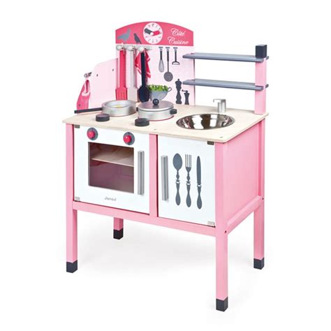 Play Kitchen Accessories by Pink Play Kitchen Accessories Deluxe Maxi Cuisine Set