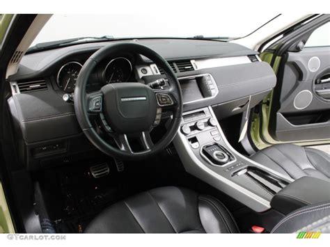 Evoque Coupe Interior by 2012 Land Rover Range Rover Evoque Coupe Dynamic Interior