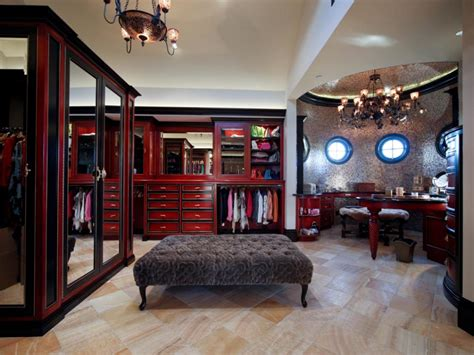 Million Dollar Closets by A West Coast Palace In The California Million