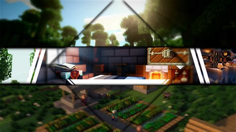 Free Epic Minecraft Youtube Banner Template No Text 1000 Subscriber Special Youtube Minecraft Banner Template