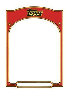 Topps Baseball Card Template Photoshop by Baseball Card Template Search Baseballmom