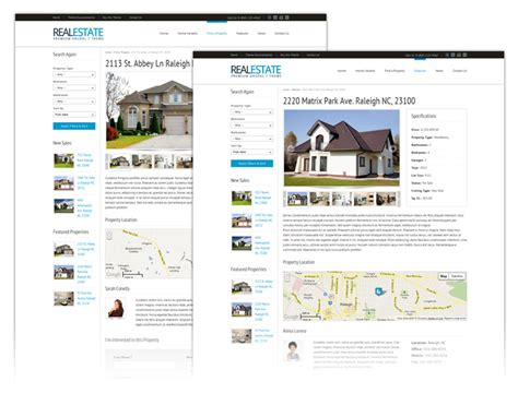 drupal themes explained property page explained realestate html5 css3 drupal
