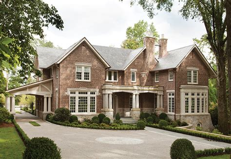 Home Exterior Design Atlanta Tudor Treasure Architect Frank Neely Designs An