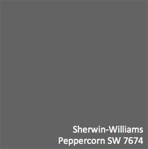 dark grey paint sherwin williams peppercorn sw 7674 perfect palette