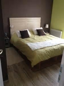 vendue t 234 te de lit en bois de palette sur mesure couleur