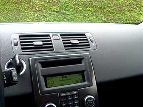 how to fix cars 2010 volvo c30 navigation system volvo c30 t5 quot high performance quot soundsystem youtube
