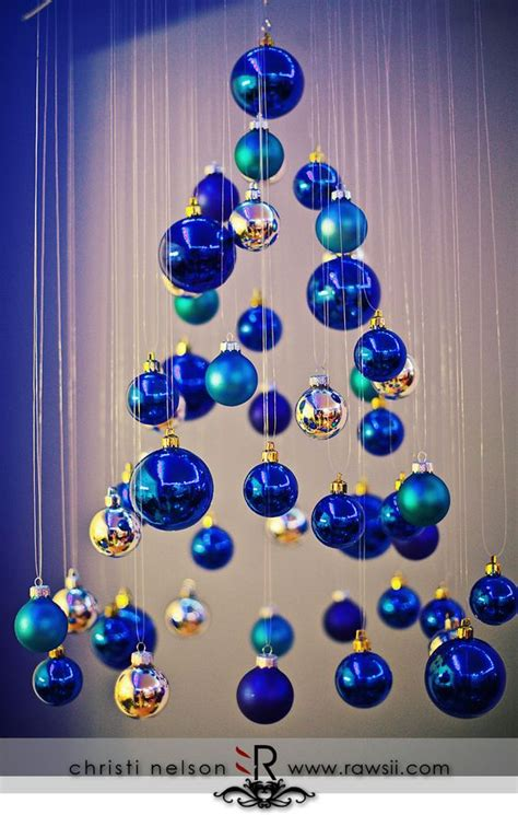 ideas navidad decora la navidad con color azul