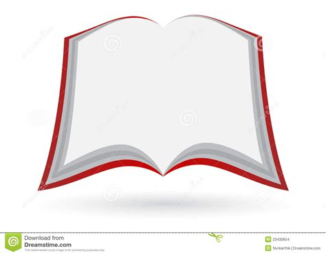 blank open book stock images image 23430654