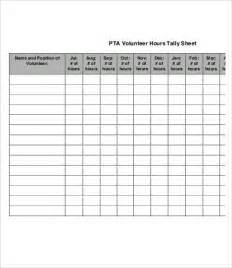 tally sheet template tally sheet template 9 free word pdf documents