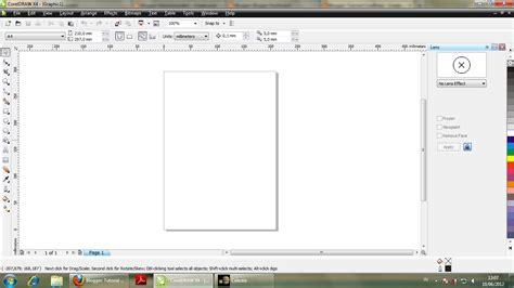 cara pattern corel tutorial coreldraw cara mengembalikan toolbar di sisi