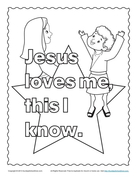 Coloring Pages Jesus Loves Me Coloring Sheet Jesus Jesus Me Coloring Page
