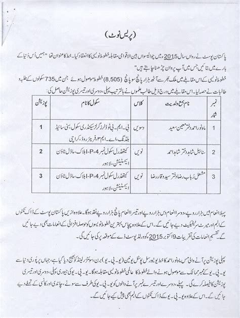 Vehicle Transfer Letter Format Pakistan pakistan post