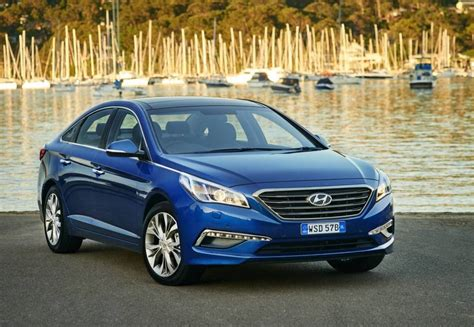 Hyundai Sanata by 2017 Hyundai Sonata On Sale In Australia From 30 590