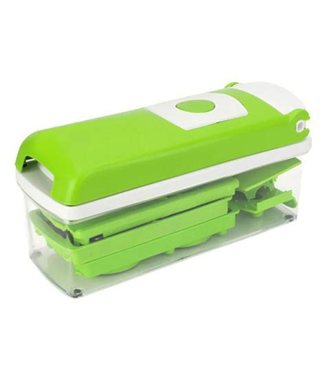 globalepartner green plastic nicer dicer set buy at best price in india snapdeal