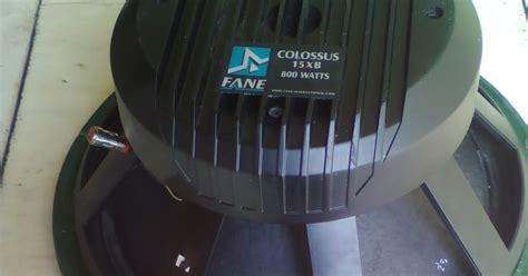 Harga Obat Nyamuk Pasir harga dan kualitas speaker fane colossus 15xb daftar