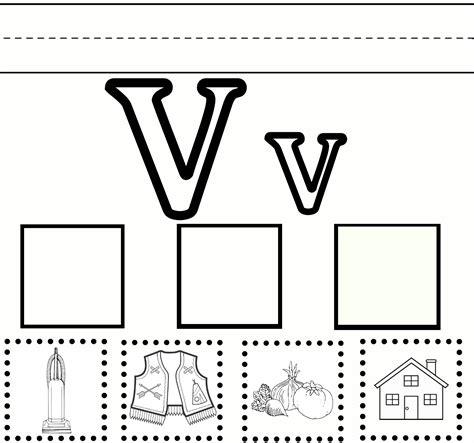letter v vegetables activities v practice preschool preschool preschool