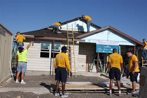 build a house file us navy 111026 n nt881 027 san antonio area sailors volunteer to help build a house for