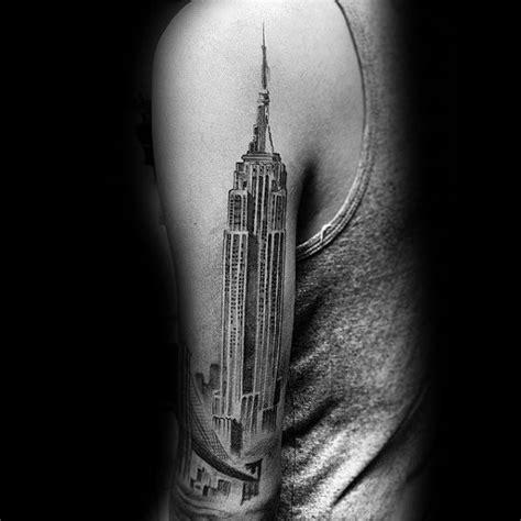 empire state tattoo 50 empire state building ideas for skyscraper