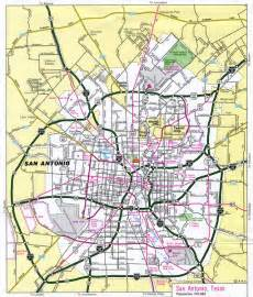 san antonio tourist map san antonio mappery