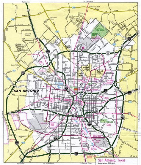 a map of san antonio texas san antonio map view