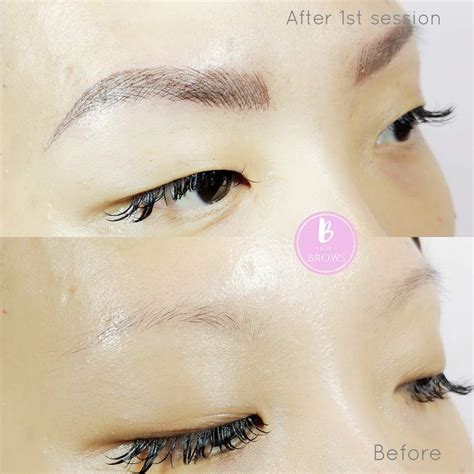 eyebrow tattoo cost vancouver microblading vancouver by b for brows