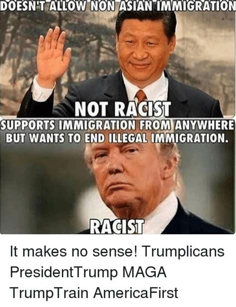 Makes No Sense Meme - 25 best memes about illegal immigration illegal