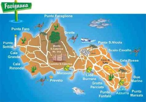 Gamis Azzura 328 28 mappa favignana picture of alson tour marsala tripadvisor