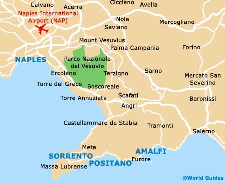 sorrento maps and orientation: sorrento, campania, italy