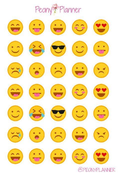 small printable emojis las 25 mejores ideas sobre emoticon en pinterest
