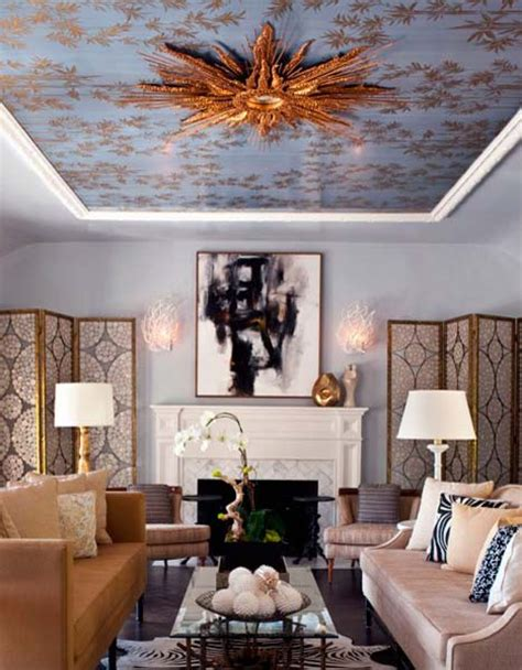 Ceiling Designs 15 Ideas For Ceiling Decorating With Ceiling Decorating Ideas For Living Room