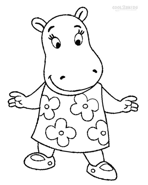 Printable Backyardigans Coloring Pages For Kids Cool2bkids The Backyardigans Coloring Pages