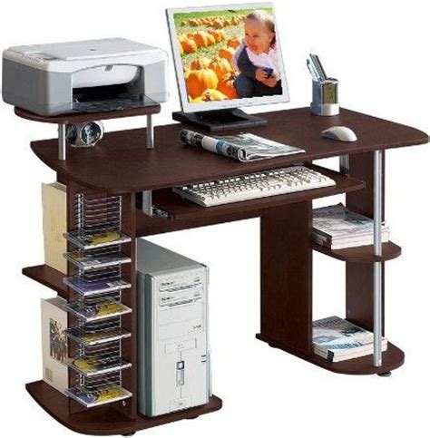 Desk For Computer And Printer Computer Desk With Printer Shelfghantapic