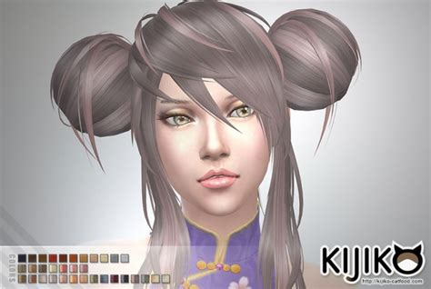 sims 4 anime hair cc panda lan lan hair ts4 edition at kijiko 187 sims 4 updates
