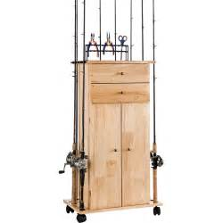 Fishing Rod Storage Cabinet Organized Fishing Large Utility Box Cabinet Walmart