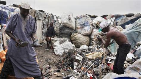 nigeria     waste dumpsite  europe   asia