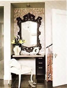 Vanity Area In Bedroom rococo mirror contemporary bedroom